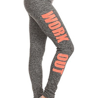 Easy Target Work Out Gray Leggings