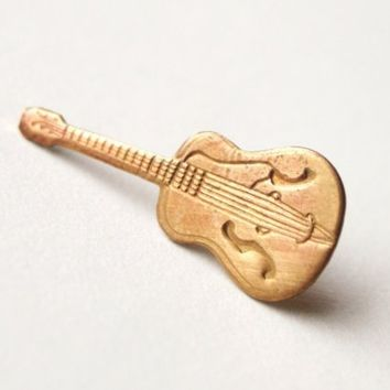 Guitar Pin by proteales on Etsy