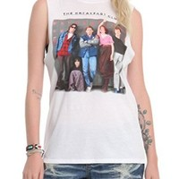 The Breakfast Club Lockers Girls Muscle Top 2XL