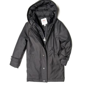 Appaman Boys' Vintage Black New Gotham Coat