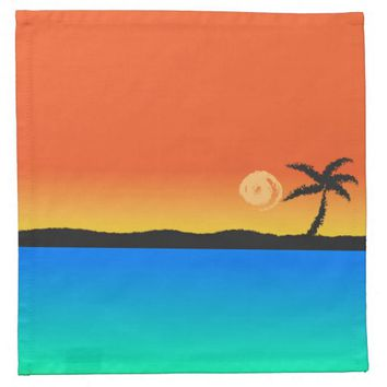 Island Sunset Napkin