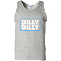Bud Light Official Dilly Dilly T-Shirt G220 Gildan 100% Cotton Tank Top