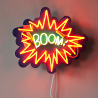 BOOM! - Pop Art Neon Sign
