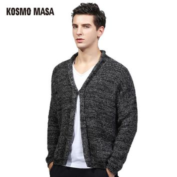 Autumn Winter Cardigan Sweater For Men Brand Clothing Jumpers Jacquard Christmas Slim Fit