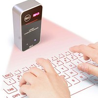 New Virtual Keyboard Bluetooth Laser Projection Keyboard for Smartphone PC Tablet Laptop Computer English QWERTY keyboard HOT