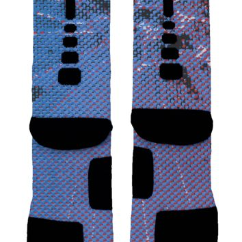 Spidey Senses Spiderman Custom Nike Elite Socks