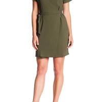 Bobeau | Crepe Wrap Dress | Nordstrom Rack