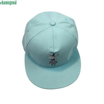 Elegant Nobility Cartoon Design Embroidery Baseball Cap Unisex Snapback Hip Hop Hat Cap For Women Men Feb 27