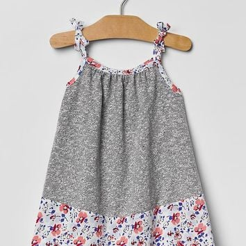 Gap Baby Contrast Floral Dress