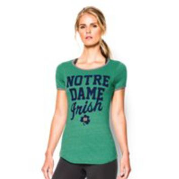 Under Armour Women's 2015 Notre Dame Iconic 6 T-Shirt