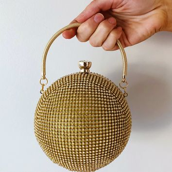 Round Of Applause Purse: Gold