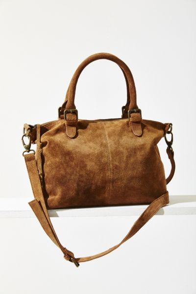Ecote Fern Suede Tote Bag