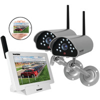Securityman Indoor And Outdoor Isecurity Digital Wireless Camera System
