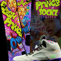 Fresh Prince Custom Nike Elite Sock