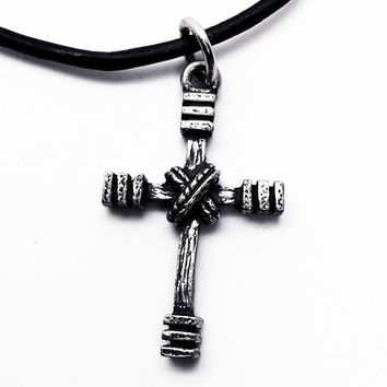 Rugged Cross Necklace