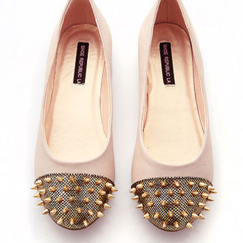 Zion Spike Flats - Trendy Flats at Pinkice.com