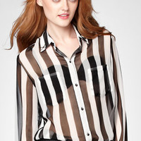 Motel Dalia Striped Blouse