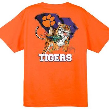 Guy Harvey Clemson Tiger T-Shirt | Palmetto Moon