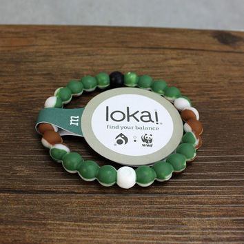 Lokai Bracelet for a balanced life (Army Green) (buy 2 get 1 free)