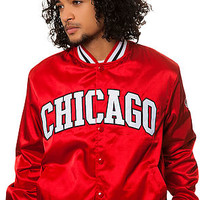 The Chicago Bulls Jacket in Red