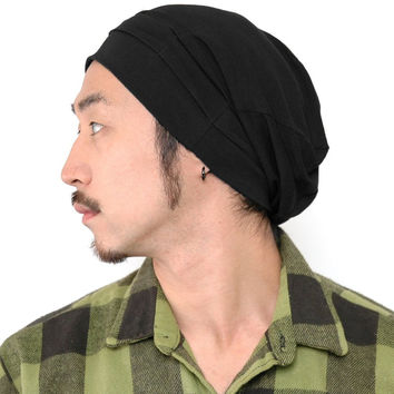 The Tuck - Slouch Cotton Spandex Beanie