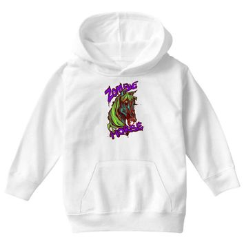 zombie horse classic Youth Hoodie