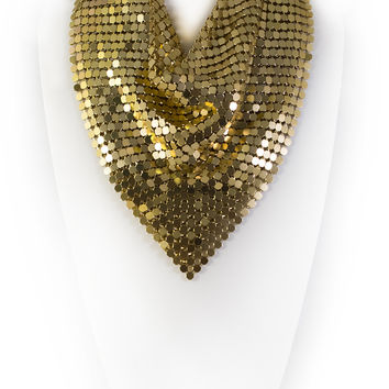 LAUREL DEWITT Metal Mesh Scarf - 50% OFF