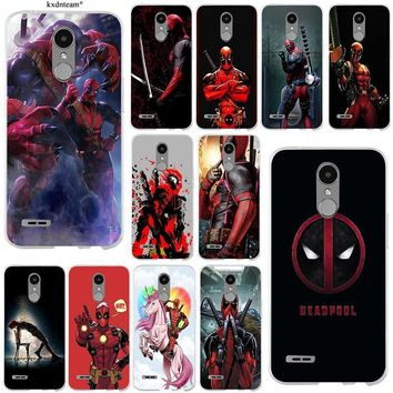 Deadpool Dead pool Taco Soft TPU Phone Cases for LG Spirit G2 G3 Mini G4 G5 G6 K4 K7 K8 K10 V10 V20 V30 Coque Shell Slim Silicone Cute  Fun Art AT_70_6