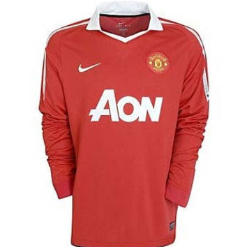 Manchester United Jersey Long Sleeve 2010-2011