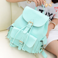 Sweet Mint Green Backpack