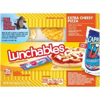 Lunchables Extra Cheesy Pizza Lunch Combination, 4.6 oz - Walmart.com