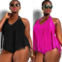 Swimwear Sexy Plus Size One Piece Swimsuit Dress Bathing Suits Swimming Suit for Women = 1958023172