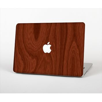 The Red Mahogany Wood Skin Set for the Apple MacBook Air 13""