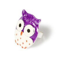 Colorful Owl Ring  | Claire's