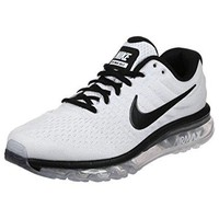 Nike Air Max 2017 running sneakers mens white/black New 849559-105