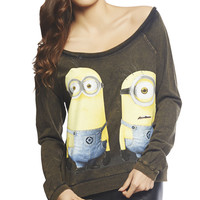 Despicable Me Minion Sweatshirt | Wet Seal