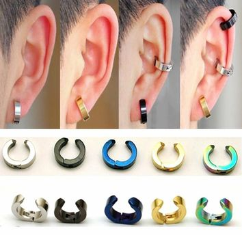 SkyAngel Fashion Ear Cuff Smooth Delicate Punk Clip Earrings For girls Men ear clips Jewelry women without piercing earrings
