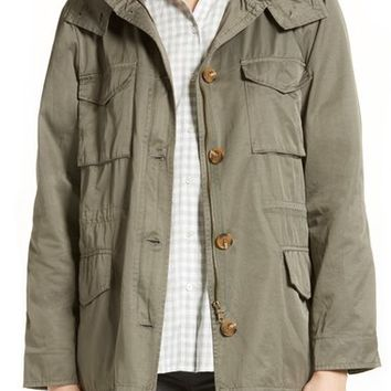 Joie Hanni B Hooded Utility Jacket | Nordstrom