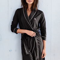 Sleepover Cotton Knit Robe - Victoria's Secret