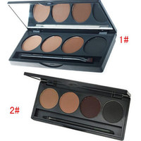 Convenient Professional Makeup Eyebrow Pressed Powder Womens Gift 10