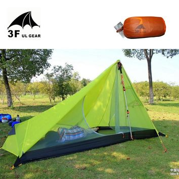 SPECIAL SALE: UL GEAR Ultralight 1-2 Person Rodless Tipi Tent