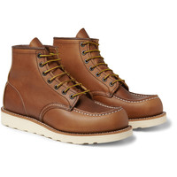Red Wing Shoes - Rubber-Soled Leather Boots | MR PORTER