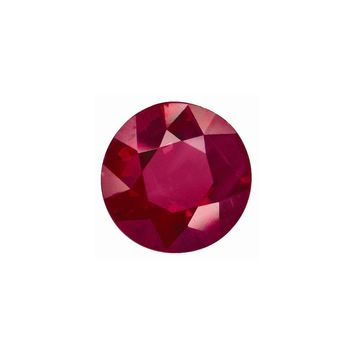Loose Ruby Gemstone  3.75mm Round C Quality