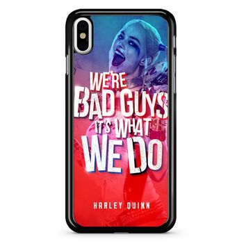 Harley Quinn Quote 1 iPhone X Case