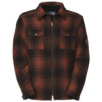The North Face North Country Down Jacket - Men's Small - Red Clay Plaid
