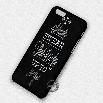 Marauder Map Deathly - iPhone 7 Plus 6 SE Cases & Covers