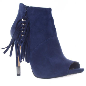 GUESS Aziz Ankle Booties, Dark Blue, 9.5 US