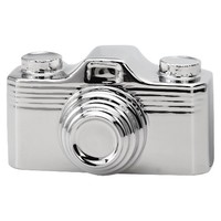 Torre & Tagus Retro Camera Decorative Figurine - Silver