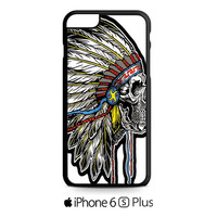 Skull Indian Chief2 iPhone 6S  Plus  Case