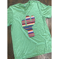 Cactus Shirt with Serape